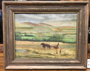PAINTING OF FARM AS FOUND