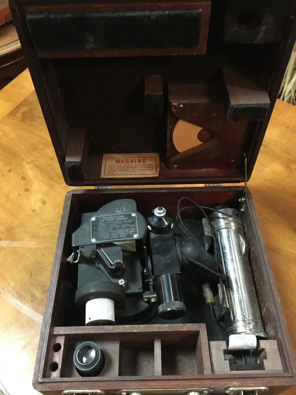 FAIRCHILD CORP. SEXTANT IN BOX