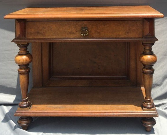 AUSTRIAN CONSOLE TABLE WITH DRAWER