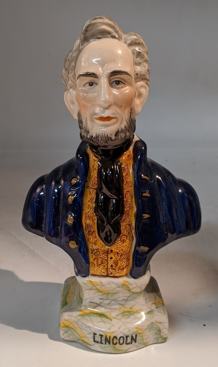 STAFFORDSHIRE LINCOLN BUST