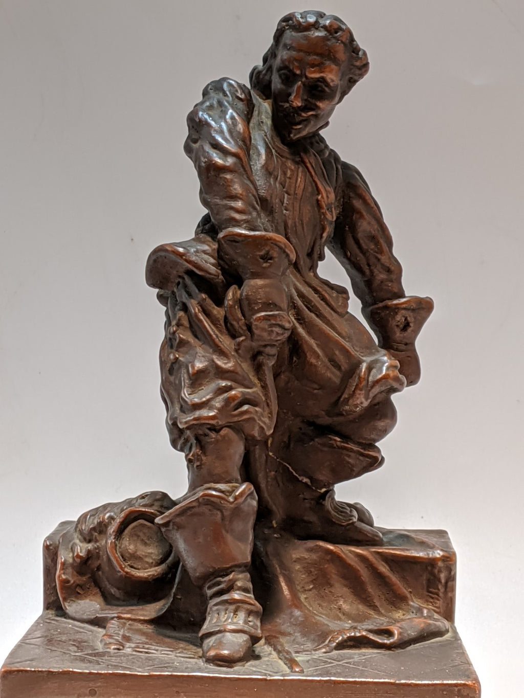 ART SCULPTURE OF D'ARTAGNAN