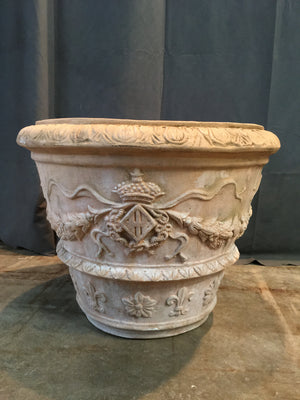 LARGE ITALIA TERRA COTTA PLANTER