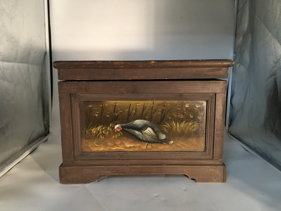 DECORATIVE TURKEY PAINTED SMALL BOX