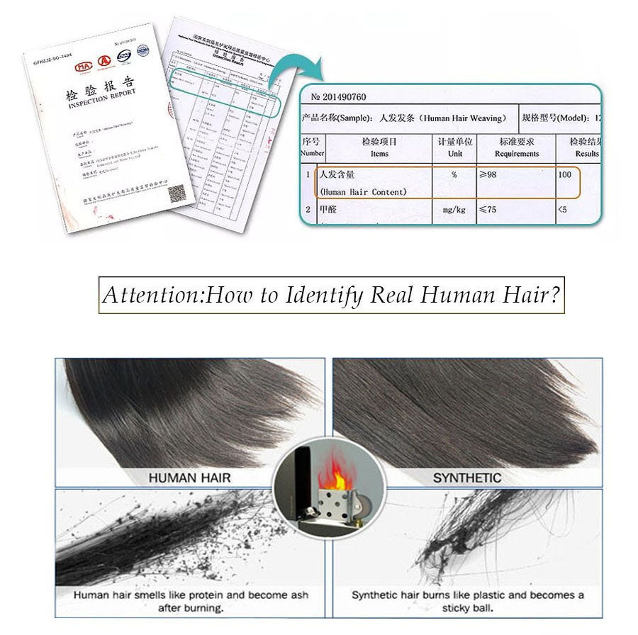 How to identify human hair