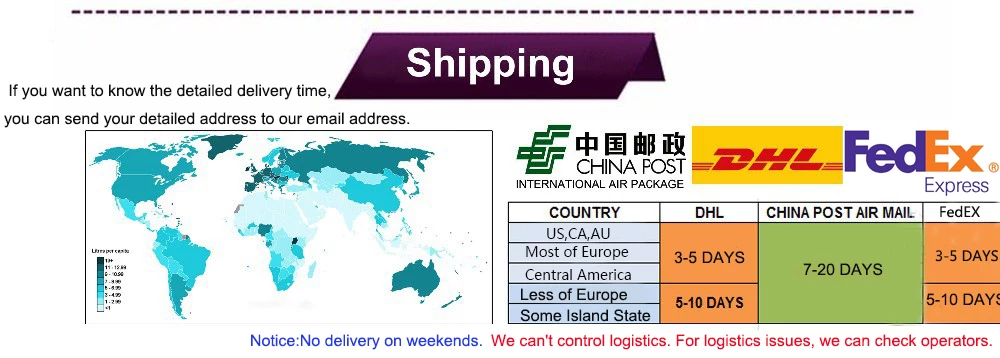 fast shipping and free deliver