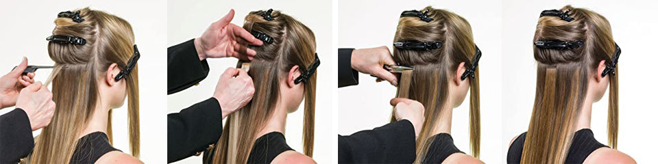 how to wear tape in human hair