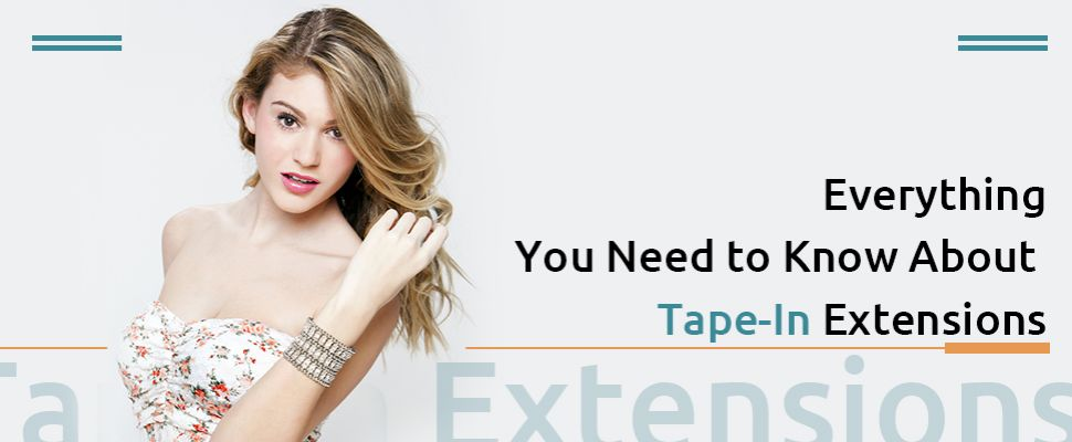things about tape in extensions