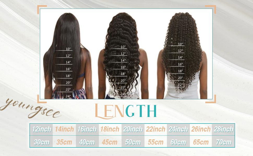 how to choose virgin human u tip hair length