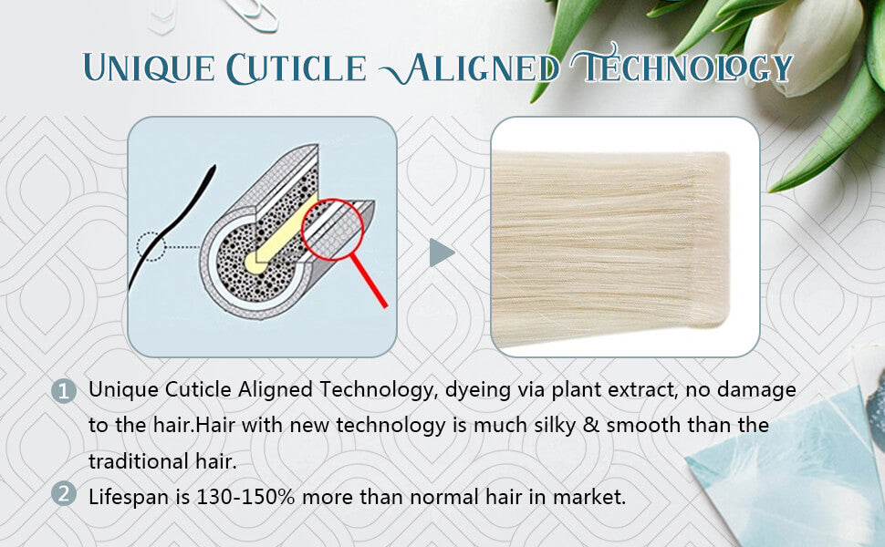 cuticle virgin human hair