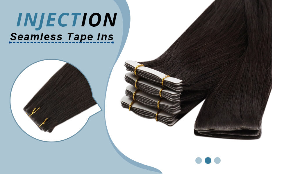 Tape in Human Hair Extensions Skin weft
