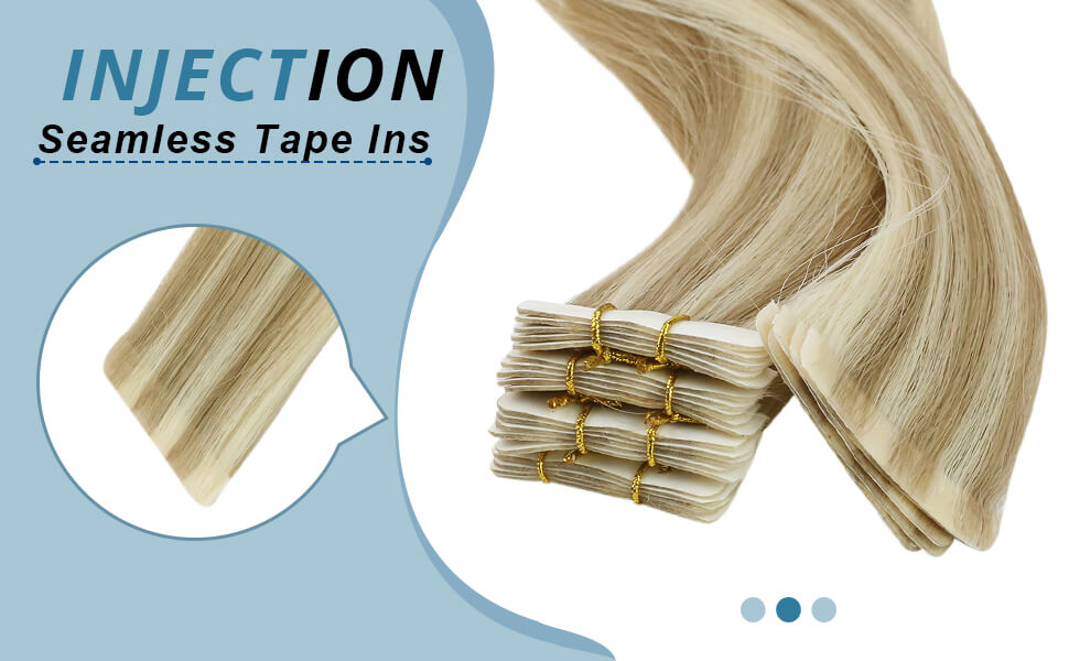 Injections tape ins human hair extensions