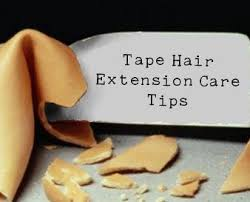 tip for tape in hair extension