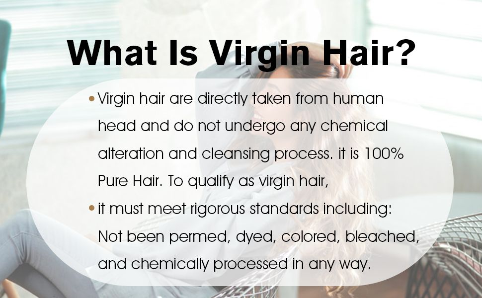 what is virgin human hair