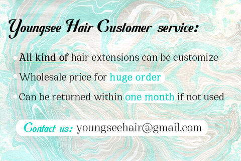 youngsee hair extensions near me