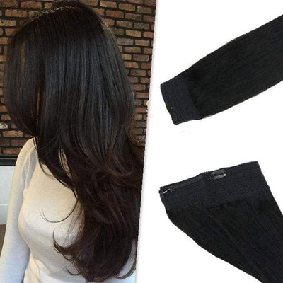 halo extensions brown,