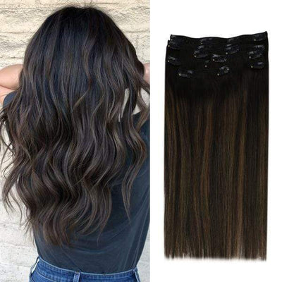 remy clip in real human hair,