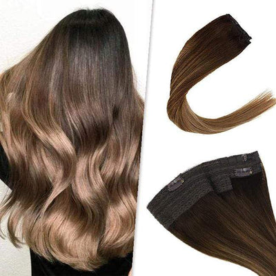 halo 12 inch flip hair extensions,