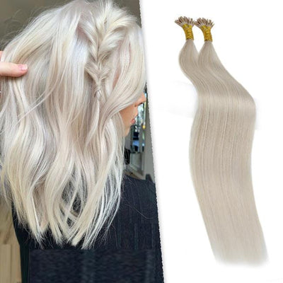 i tip 100% human hair extensions