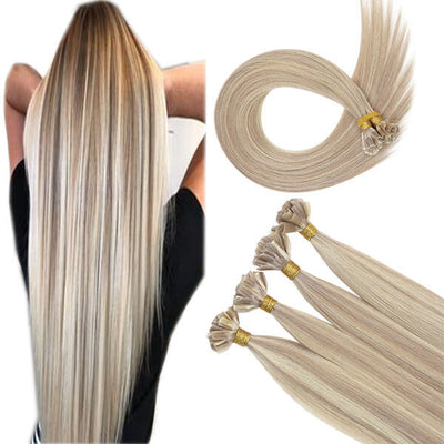 u tip highlight human virgin hair