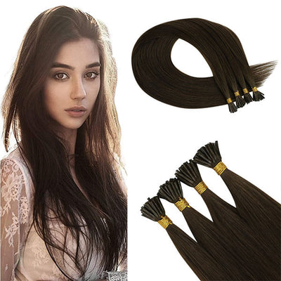 Bulk buy virgin remy i tip hair extensions online