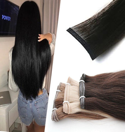 virgin hair clip in extensions