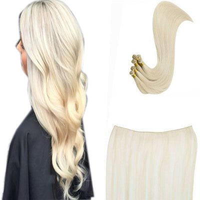 Hand-Tied vs Tape-in Hair Extensions
