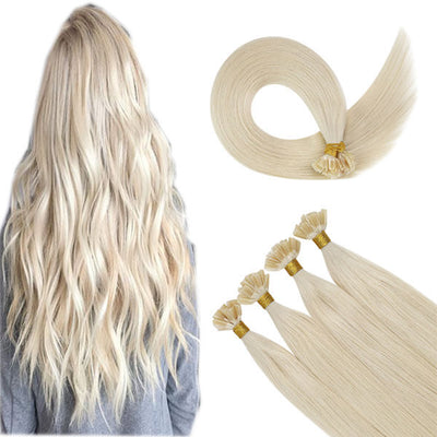 u-Tip Hair Extensions - 100% Virgin Remy Human Hair