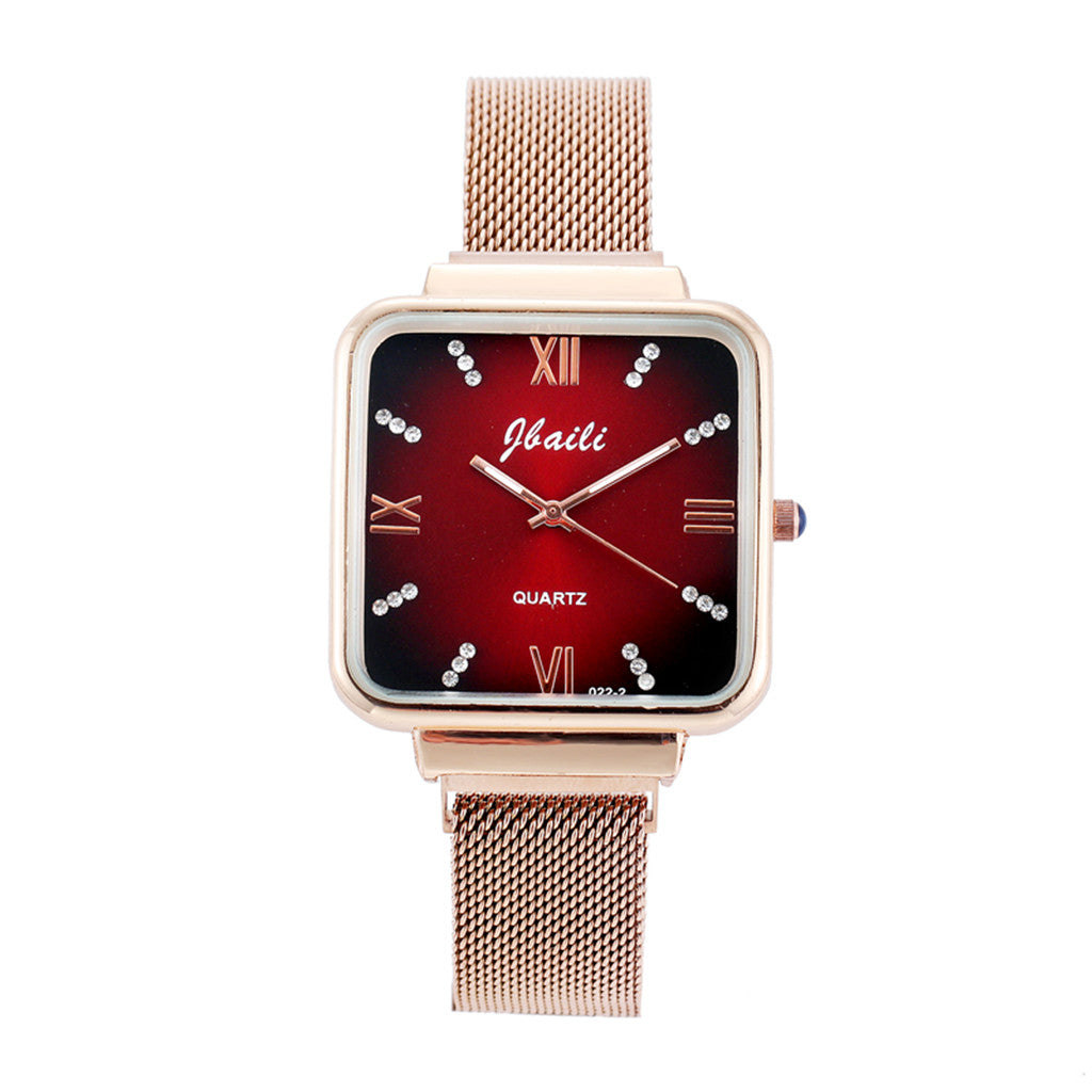 FASHION GOLD QUARTZ WATCH