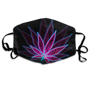 Face Mask - Psychedelic Purple Cannabis
