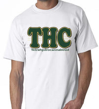 "Load image into Gallery viewer, THC KFC Sanders Pot Joint Weed Graphic Shirt T Shirt The New ""Short Sleeve T-Shirt Funny Print "" Game Shirt Top Tee"
