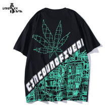 Load image into Gallery viewer, Designer Lindsey Seader Cannabis City Print Streetwear