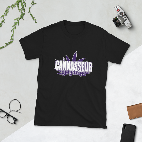 PURPLE CANNASSEUR! Short-Sleeve Unisex T-Shirt