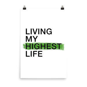 Living My Highest Life Poster