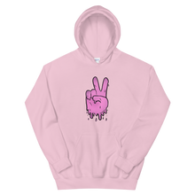 Load image into Gallery viewer, Peaceful Haze Unisex Hoodie ft. Livefree420365