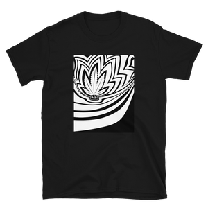 Trippy Leaf - Short-Sleeve Unisex T-Shirt