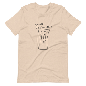 A-door-able~! Short-Sleeve Unisex T-Shirt