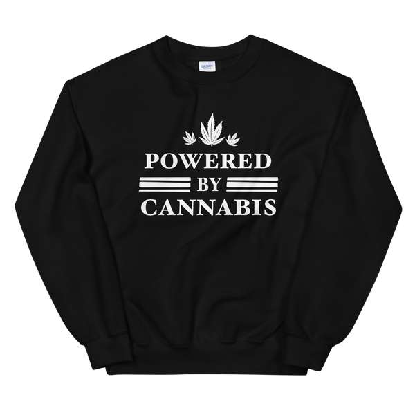 Powered by Cannabis - Unisex Sweatshirt