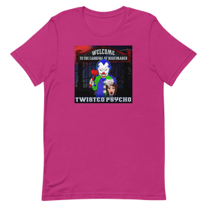 Twisted Psycho Welcome - Short-Sleeve Unisex T-Shirt