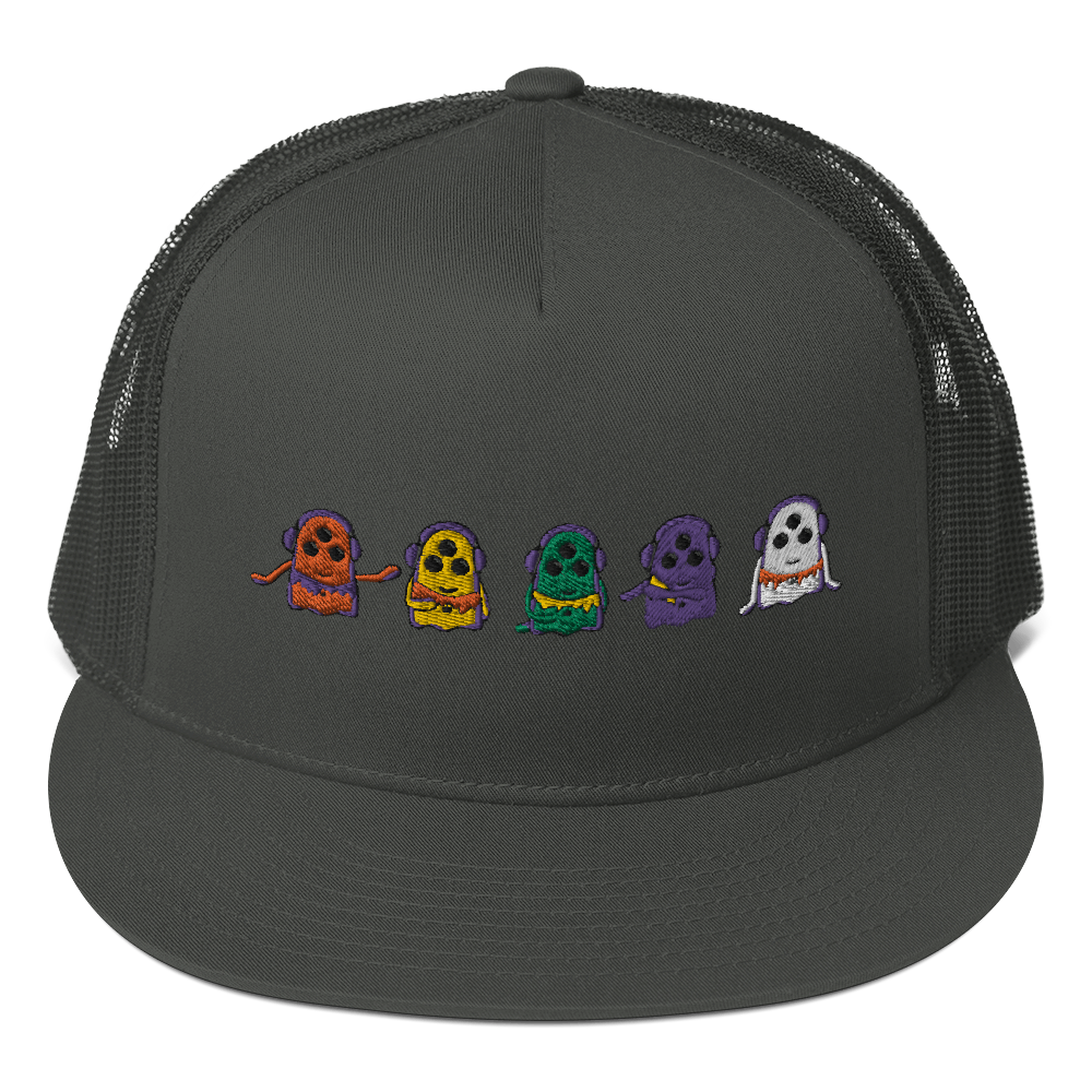 Grateful Squishies - Mesh Back Snapback