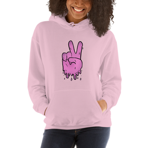 Peaceful Haze Unisex Hoodie ft. Livefree420365