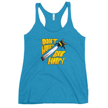 Load image into Gallery viewer, Don't Worry Bee Happy - Women's Racerback Tank