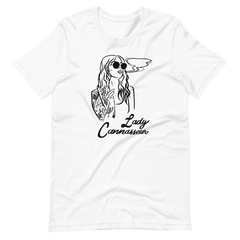 Lady Cannasseur - Short-Sleeve Unisex T-Shirt