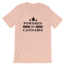 Load image into Gallery viewer, Powered by Cannabis - Short-Sleeve Unisex T-Shirt