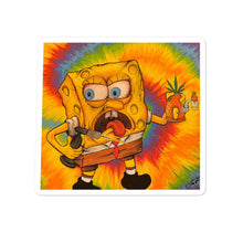 Load image into Gallery viewer, Spongebob Dab - Visual Fiber - Bubble-free stickers