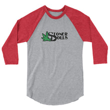 Load image into Gallery viewer, Stoner Dolls - 3/4 sleeve raglan shirt