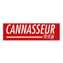 Load image into Gallery viewer, Cannasseur Lifestyle - Bubble-free stickers