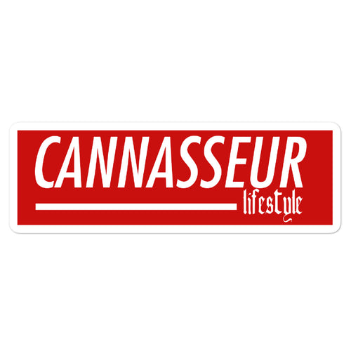 Cannasseur Lifestyle - Bubble-free stickers