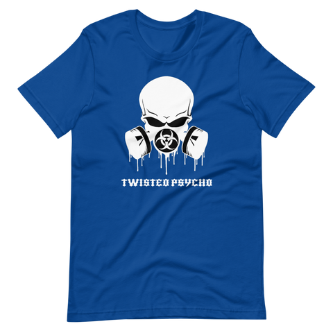 Twisted Psycho Gas Mask - Short-Sleeve Unisex T-Shirt
