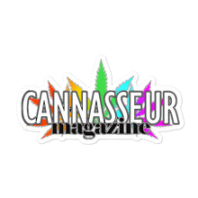 Load image into Gallery viewer, Cannasseur Magazine Rainbow - Bubble-free stickers