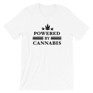Powered by Cannabis - Short-Sleeve Unisex T-Shirt